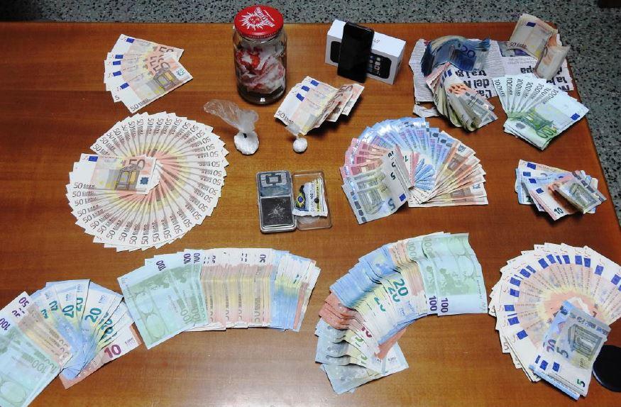 Droga e 14 mila euro a San Benedetto Ullano, arrestato 39enne