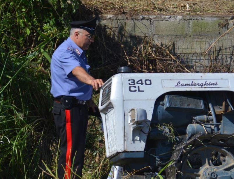 Incidente Stignano, muore schiacciato da trattore