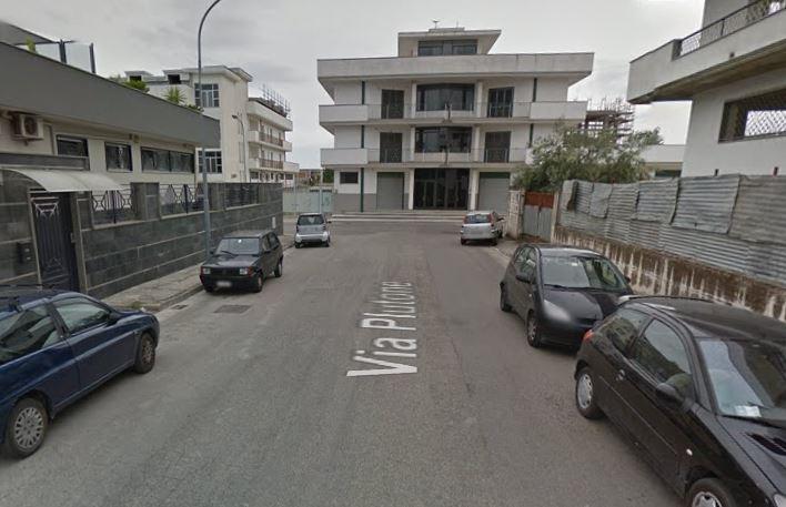 Via Plutone a Sant'Antino dove è avvenuto il delitto di Stefania Formicola