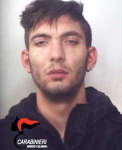 L'arrestato Andrea Crispo