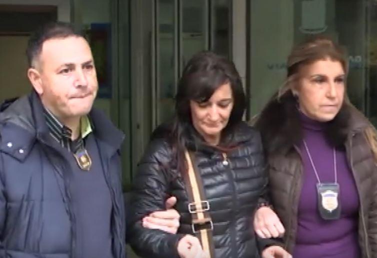 L'arresto di Antonella Salerni