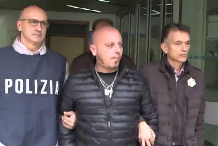 L'arresto di Armando Mosciaro