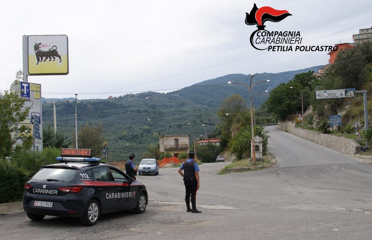 carabinieri petilia policastro
