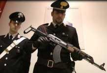 I Carabinieri sequestrano armi a Seregno