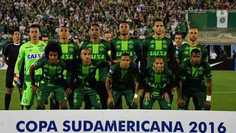 La squadra del Chapecoense
