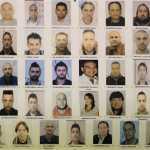Foto arrestati operazione Factotum