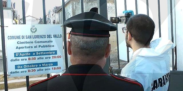Militari-sigilli-cimitero-San-Lorenzo
