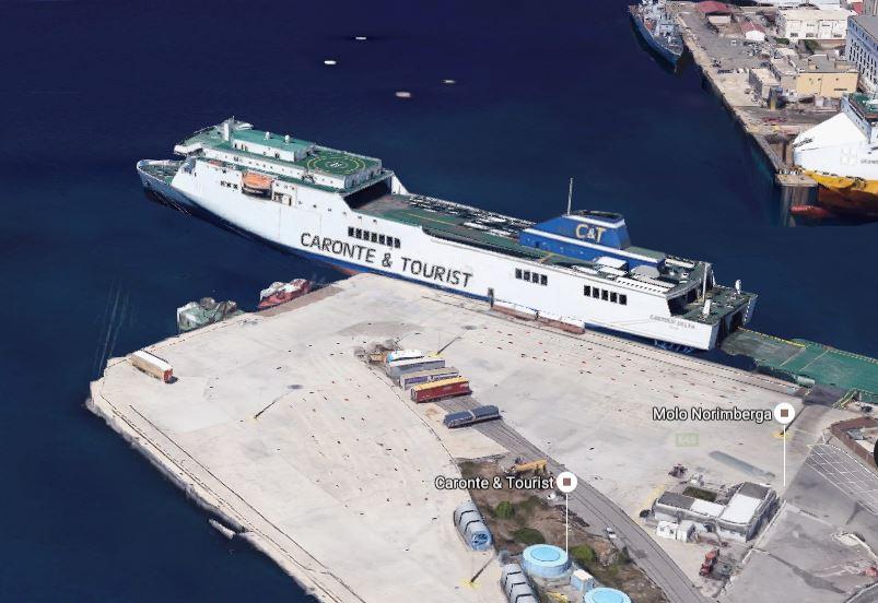 Il molo Norimberga nel porto di Messina dov'è avvenuta la tragedia