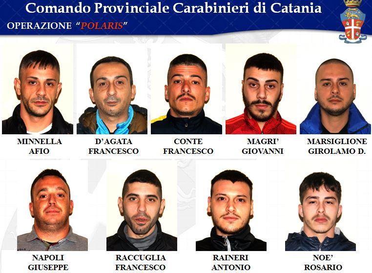 Arrestati operazione Polaris Catania