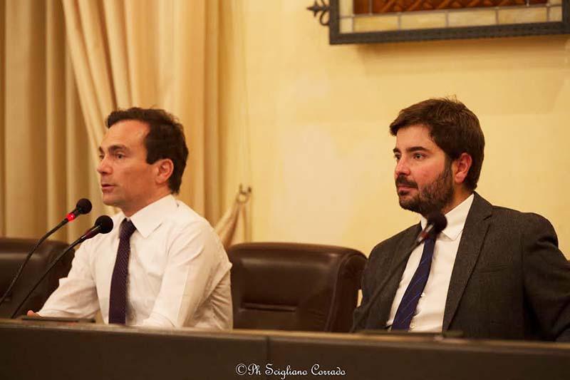 Da sinistra Salvatore Vassallo e Antonio Brunetto