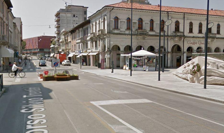 Il centro di San Donà di Piave (Venezia)