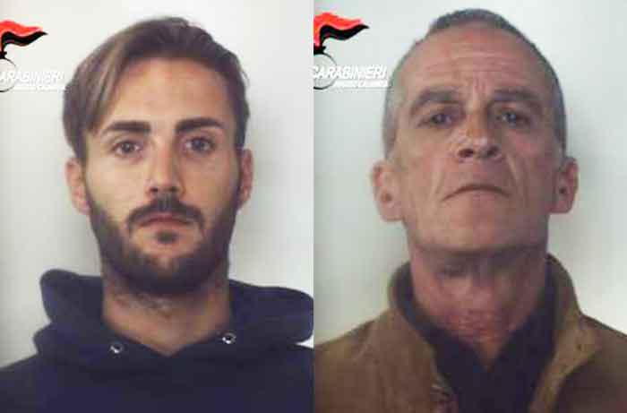 Da sinistra Silvio Muià e Salvatore Rocco Raso