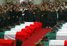 I funerali degli italiani uccisi nella strage di Nassiriya