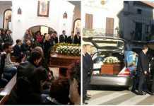 I funerali di Edda Costabile e Ida Attanasio a San Lorenzo del Vallo