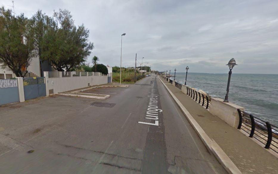 Il Lungomare Lorusso nel quartiere Palese di Bari