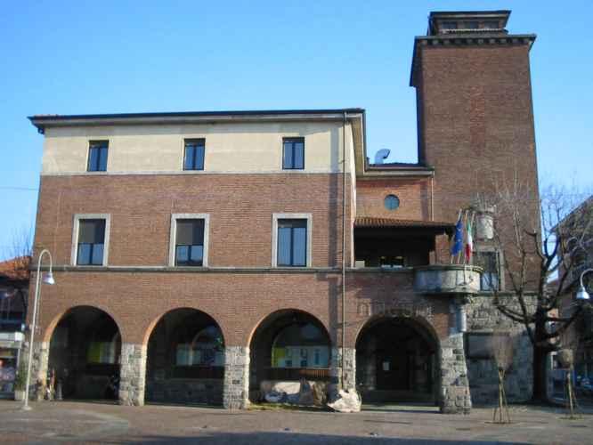 Il municipio di Rescaldina