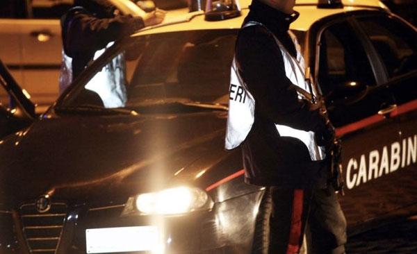 posto-blocco-carabinieri notte