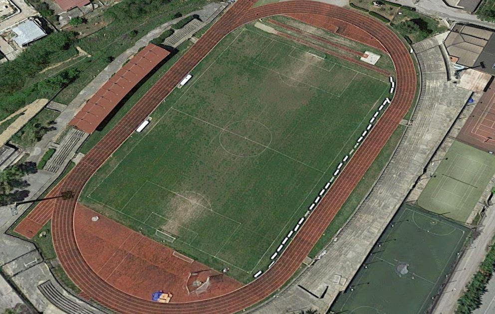 Lo stadio di Castrovillari