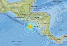 Terremoto magnitudo 7 nel Pacifico, tra El Salvador e Nicaragua