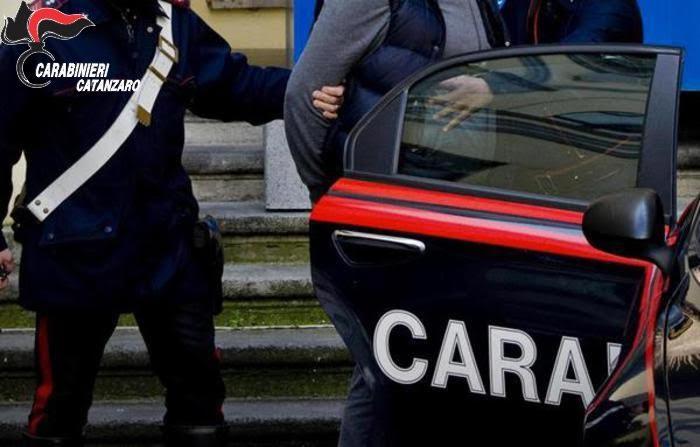 Arresto dei Carabinieri di Catanzaro
