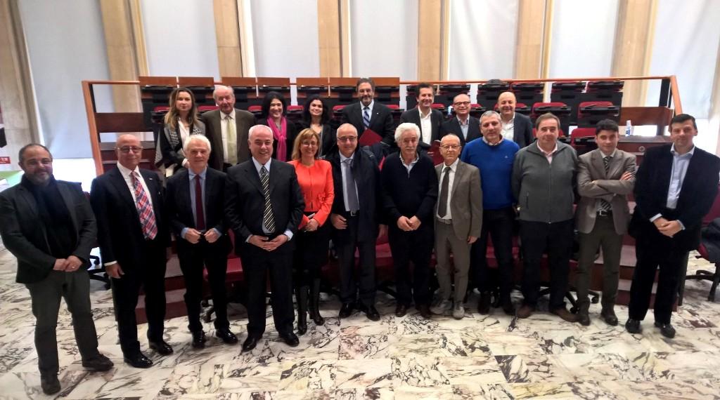Il Consiglio della Ccia di Cosenza che ha approvato il primo Bilancio Sociale