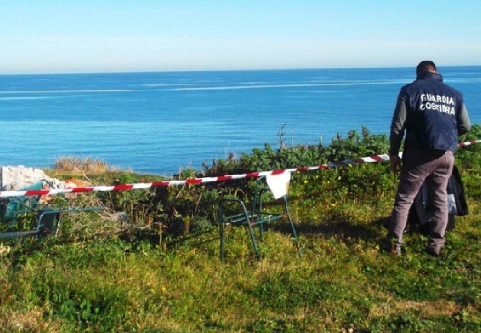 Amianto in parco archeologico riserva marina di Capo Rizzuto