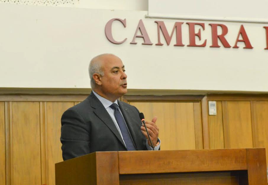 Il presidente della Camera di Commercio di Cosenza, Klaus Algieri
