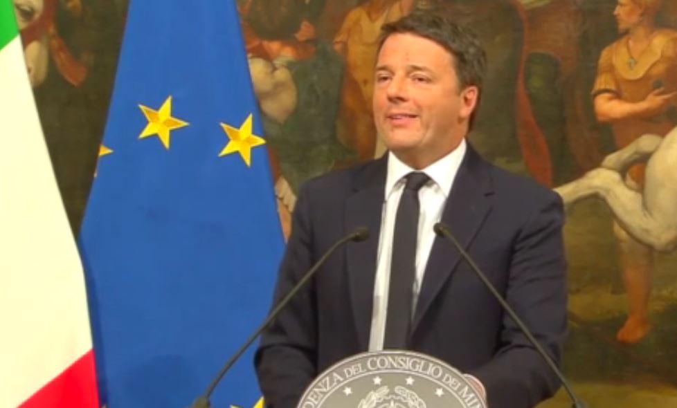 ll discorso di Matteo Renzi