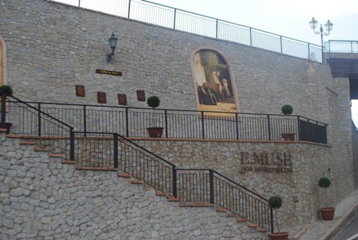 Un'immagine del Museo all'aperto di Sellia.