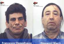 Da sinistra Francesco Oppedisano e Giovanni Macrì