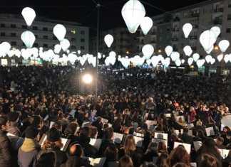 Inaugurata la nuova piazza Fera a Cosenza