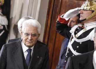 Il Presidente Sergio Mattarella