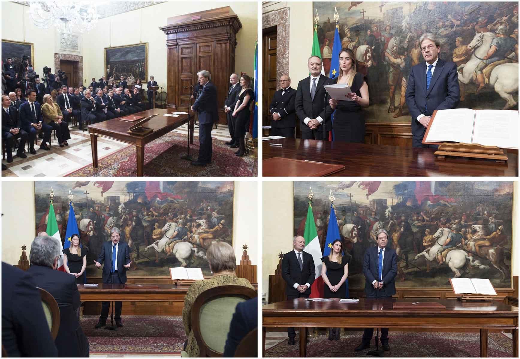 I Sottosegretari del governo Gentiloni