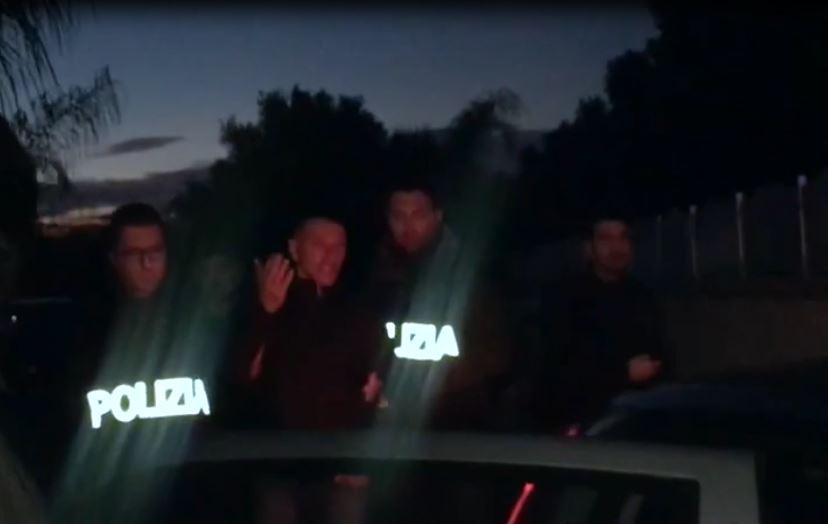 Uno degli arresti eseguiti dalla mobile di Catanzaro