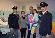 Dono per i bambini dalla Questura di Crotone