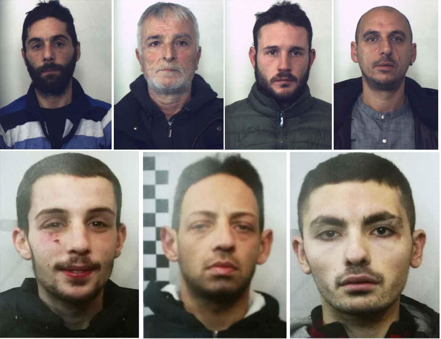 Operazione Predator Sette Arresti A Cosenza Foto Nomi