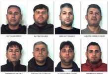 Gli arrestati nell'operazione Orfeo a Catania gruppo Picanello