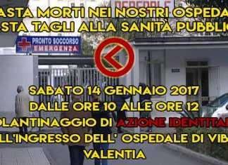 """Malasanità, Turtoro (Azione identitaria): """"Sabato protesta a Vibo"""""""