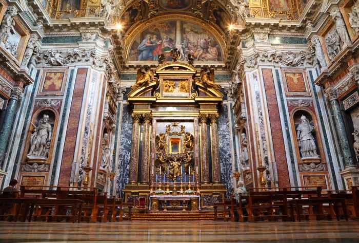 La Basilica di Santa Maria Maggiore a Roma