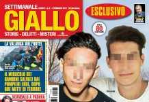La copertina di Giallo in edicola dal 25 gennaio sul caso di Pontelangorino
