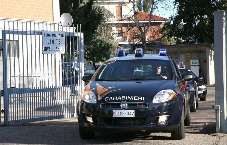 Carabinieri Torino bikers