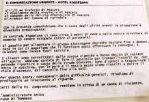 La mail inoltrata dall'amministratore unico dell'hotel Rigopiano, Bruno Di Tommaso