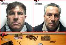 Emilio e Antonio Macheda armi rione Modena Reggio Calabria