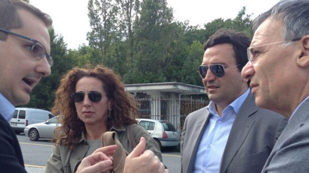 Ormarso e Nicolo su Tallini