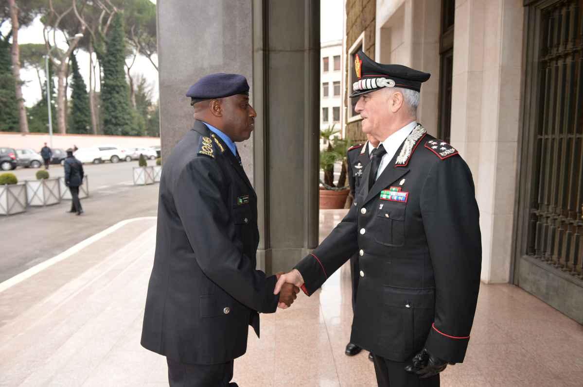 Sicurezza, sottoscritta intesa tra Polizia del Rwanda e i Carabinieri