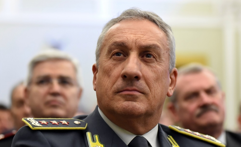 Il Comandante generale della Guardia di Finanza, Generale Giorgio Toschi