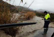 Maltempo, una foto dell'alluvione che ha colpito la Locride