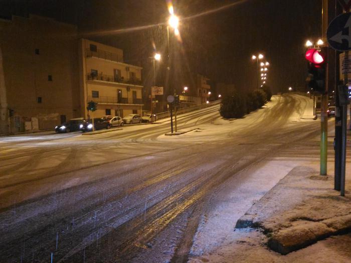 Maltempo: nevicata a Reggio Calabria ed in Aspromonte
