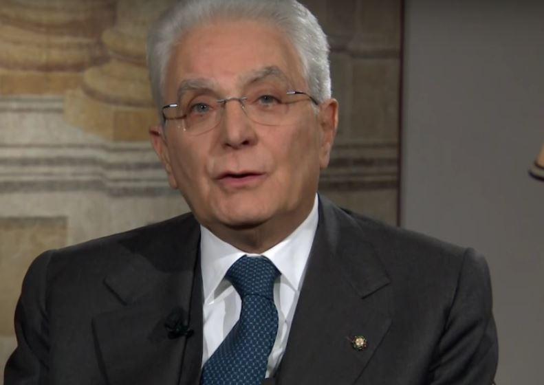 Sergio Mattarella nel discorso di Capodanno il 31 12 2016