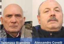 Da sinistra Tommaso Biamonte e Alessandro Covelli